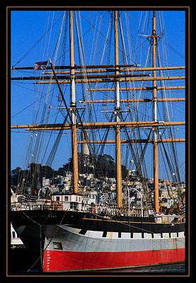Photograph - The Ship Balclutha by Bonnie Follett