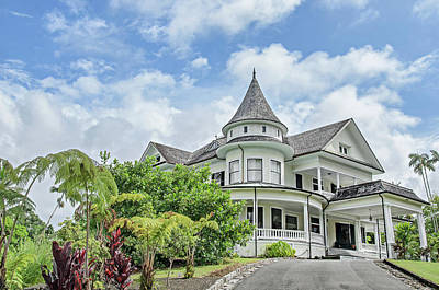 Photograph - The Shipman House In Hilo, Hawaii by David Lawson