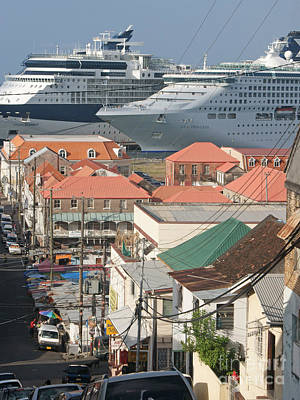 Photograph - The Ships At The End Of The Street by David Birchall