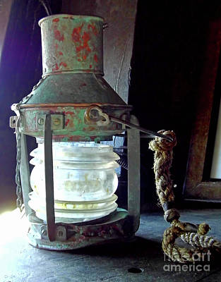 Photograph - The Ships Lamp by D Hackett
