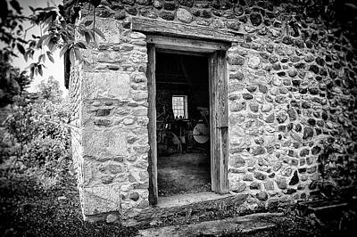 Photograph - The Shop Door by Marvin Borst