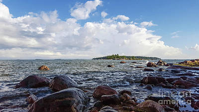 Photograph - The Shore In Helsinki, Finland. by Cesar Padilla