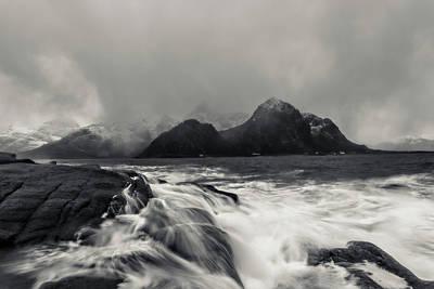 Photograph - The Shore Of Winter by Alex Lapidus