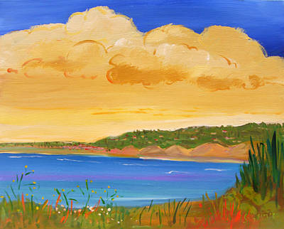 Wall Art - Painting - The Shores by Sally Huss
