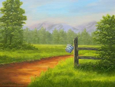 Carter.oil Painting - The Shortcut  Carter by John Carter