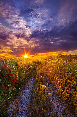 Photograph - The Shortcut by Phil Koch