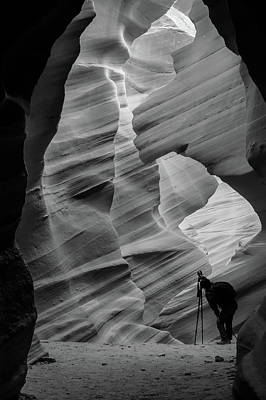 Photograph - The Shot - Lower Antelope Canyon by Gregory Ballos