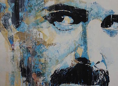 Freddie Mercury Wall Art - Painting - The Show Must Go On  by Paul Lovering