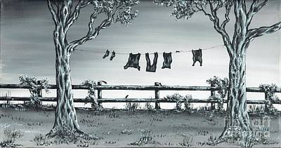 Painting - The Show Off by Kenneth Clarke