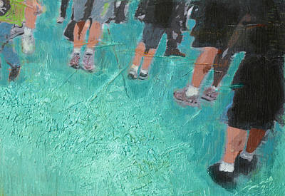 Digital Art - The Shuffle  by Susan Stone