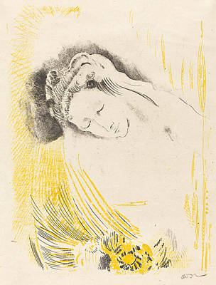 Painting - The Shulamite  by Odilon Redon