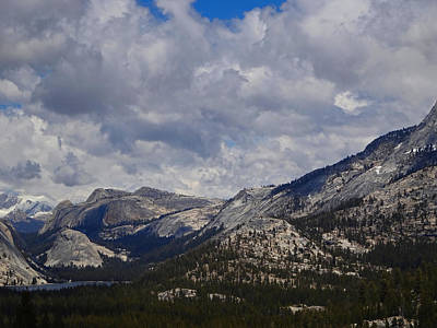 Photograph - The Sierra Nevadas by Jacqueline  DiAnne Wasson