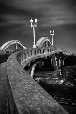 Photograph - The Sierra Vista Bridge Of Roseville by Wes Jimerson