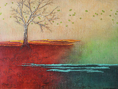 Painting - The Sigh Of Spring by Heather Haymart