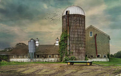 Photograph - The Silo by Robin-Lee Vieira
