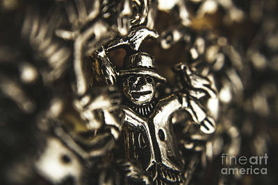 Metal Wall Photograph - The Silver Strawman by Jorgo Photography - Wall Art Gallery