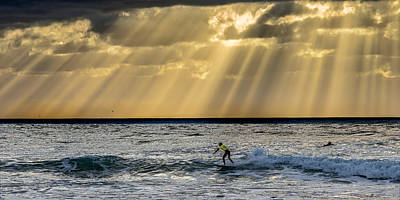 Surf Lifestyle Photograph - The Silver Surfer by Peter Tellone
