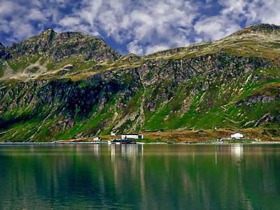 Europe Photograph - The Silvretta Reservoir by Anthony Dezenzio