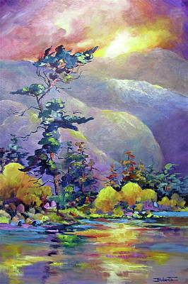 Painting - Dancing Tree by Bonny Roberts
