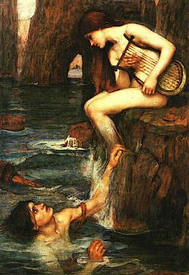 The Siren A Art Print