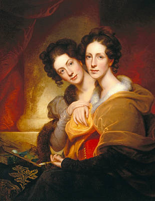 The Sisters Art Print by Rembrandt Peale