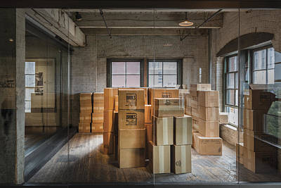 Photograph - The Sixth-floor Storeroom Of The Texas School Book Depository In Dallas by Carol M Highsmith