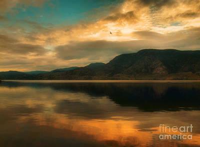 Skaha Lake Photograph - The Skaha Sunrise by Tara Turner