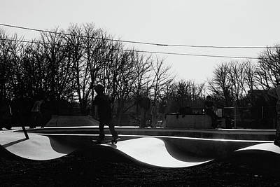 Photograph - The Skateboarder by Margie Avellino