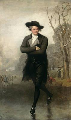 Painting - The Skater by Gilbert Stuart