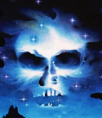 Digital Art - The Skull Of Gorgoroth by Mario Carini