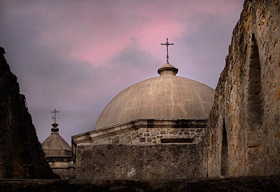 Photograph - The Sky Over Mission San Jose by David and Carol Kelly
