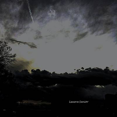 Photograph - The Sky - The Sky by Lenore Senior