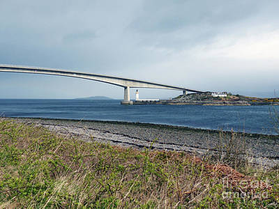 Photograph - The Skye Bridge by Phil Banks