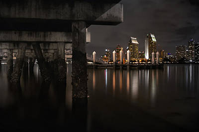 The Skyline Of San Diego Print by Sean Foster