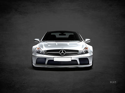 Mercedes Benz Photograph - The Sl65 by Mark Rogan
