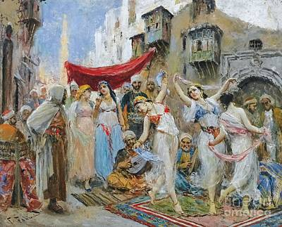 The Slave Market Painting - The Slave Market by Celestial Images