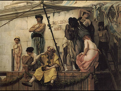 The Slave Market Digital Art - The Slave Market by John White Alexander