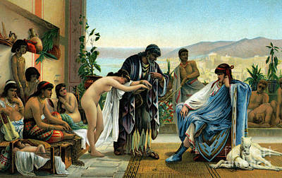 Painting - The Slave Market  by V Giraud
