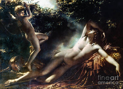 Zeus Painting - The Sleep Of Endymion by Granger
