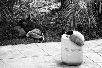 Photograph - The Sleep Of The Homeless by Hugh Smith