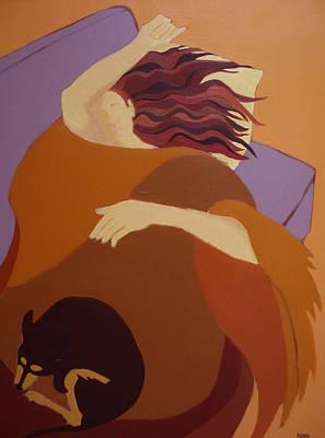 The Sleeping Beauties Art Print