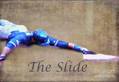 Photograph - The Slide by Nina Silver