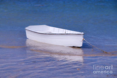 Southern Maine Photograph - The Slumber Boat by Elizabeth Dow