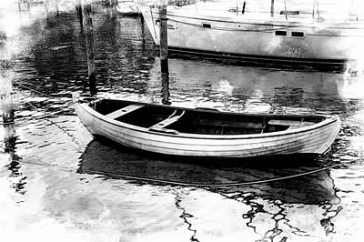 Photograph - The Small Boat by Karen McKenzie McAdoo