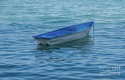 Photograph - The Small Dinghy by Michelle Meenawong