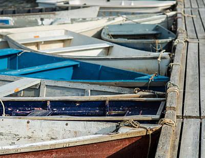 Dinghy Photograph - The Small Fleet by Joseph Smith