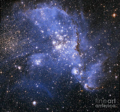 The Small Magellanic Cloud Art Print by Stocktrek Images