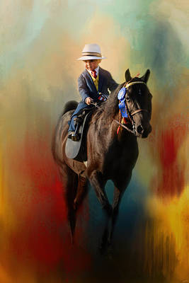 Photograph - The Smallest Rider by Jai Johnson