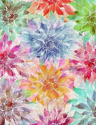 Mixed Media - The Smell Of Spring 3 by Klara Acel