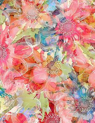 Mixed Media - The Smell Of Spring by Klara Acel